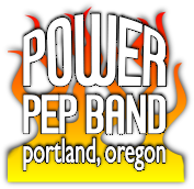 Image of Portland Oregon's Power Pep Band Logo